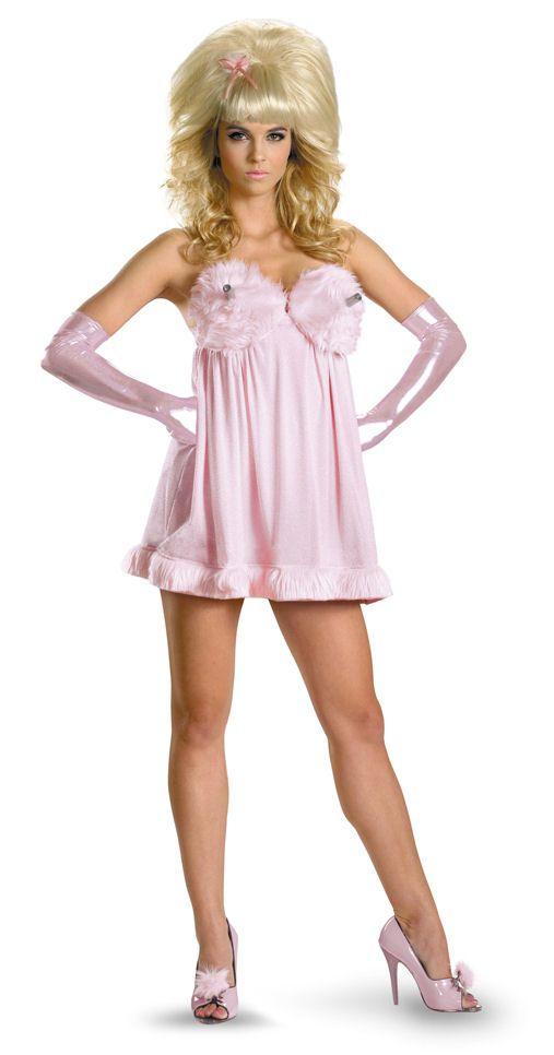 retro austin powers fembot womens costume - Halloween Stores In Austin Texas