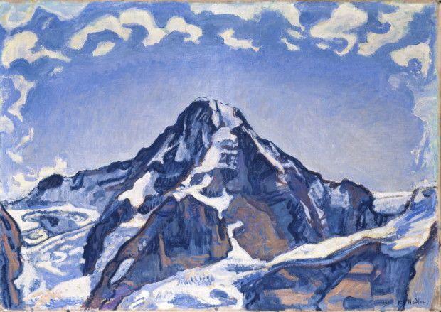 Ferdinand Hodler, Le Monch dans les nuages, 1911, private collection