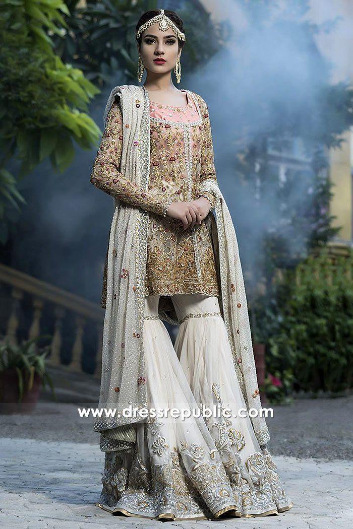 06d8fe5af7 Champagne White Burch. Champagne White Burch Pakistani Bridal Wear ...
