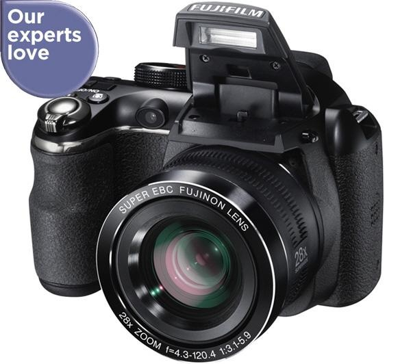 The Fuji FinePix S4400 Bridge Camera is packed with features and dramatic quality to make your photography worthy of a portfolio.
