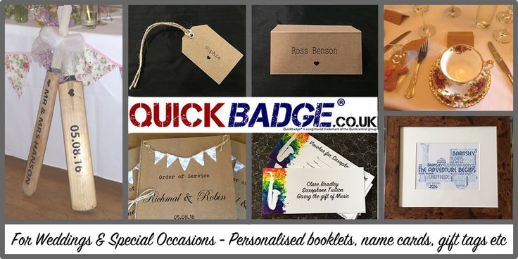 "Quickbadge on Twitter: ""we can #create #gifttags #namecards #wordart #vouchers for all #occasions #wedding #babygift #giftofmusic - ask us 😀 https://t.co/F0LfGdiCXa"""