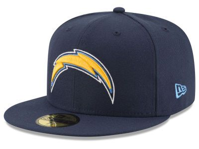 Los Angeles Chargers NFL Team Basic 59FIFTY Cap