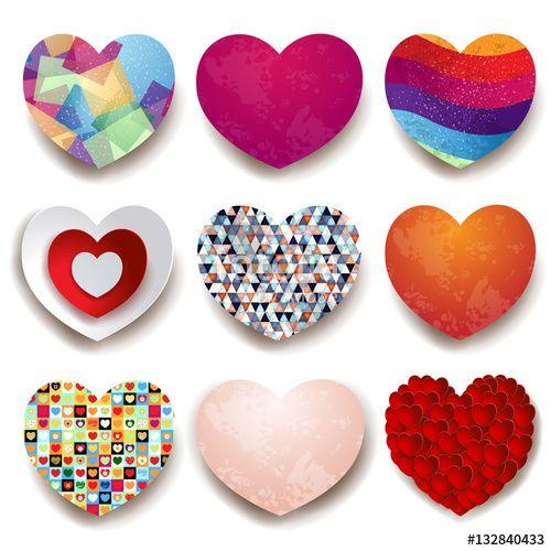 Nuove #icone #vettoriali :) New #vector #icons #heart #love #valentine #romantic #art #abstract #symbol #shape https://us.fotolia.com/id/132840433