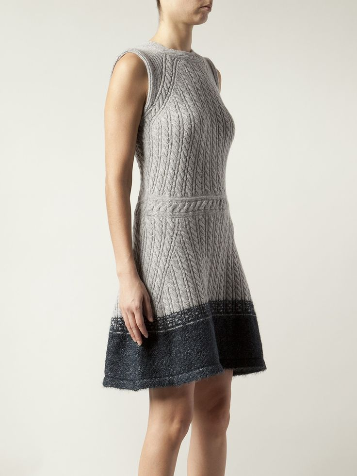 Knitting Pattern Cable Dress : 25+ best ideas about Knit Dress on Pinterest Knitwear ...