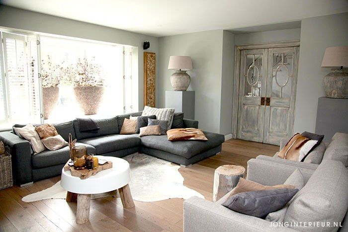 20 best Woonkamer Livingroom taupe images on Pinterest | Taupe ...