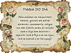 Magia no Dia a Dia: Magia do Dia: domando a fera http://magianodiaadia.blogspot.com.br/2016/11/magia-do-dia-domando-fera.html
