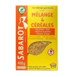 Mélange 4 céréales 400g Sabarot
