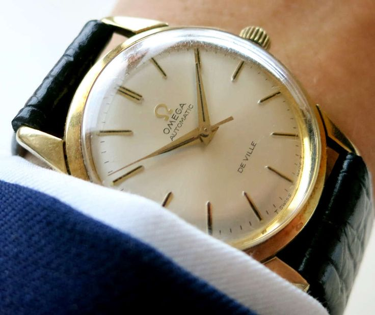 Beautiful Omega Seamaster De Ville Automatic from Vollgold