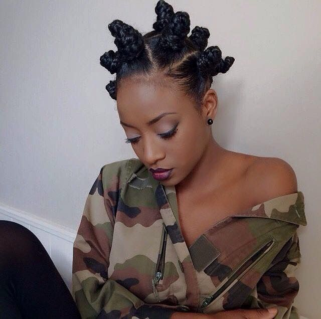 59 Best Bantu Knots Images On Pinterest