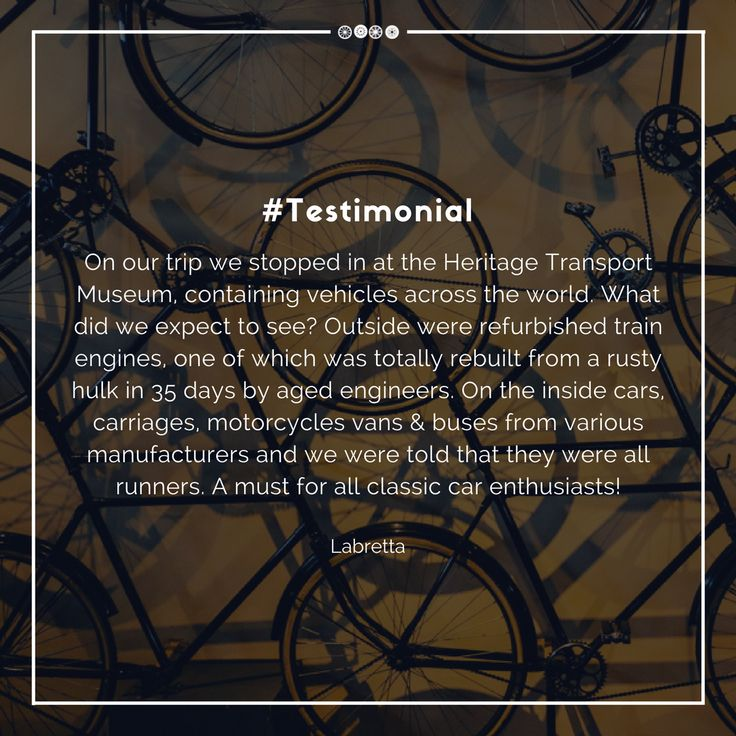 We are glad to know how much you like the museum.  Leave us a review on Trip Advisor!  #testimonialtuesday #tripadvisor #transportmuseum