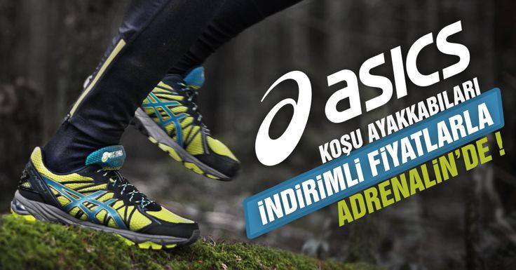 Asics Koşu Ayakkabıları İndirimli Fiyatlarla Adrenalin'de !