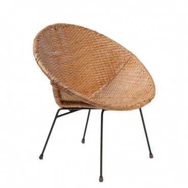 167 best MCM Wicker and Rattan Chairs images on Pinterest