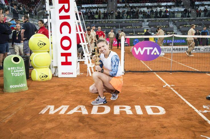 Simona Halep – Mutua Madrid Open Tennis, May 2017
