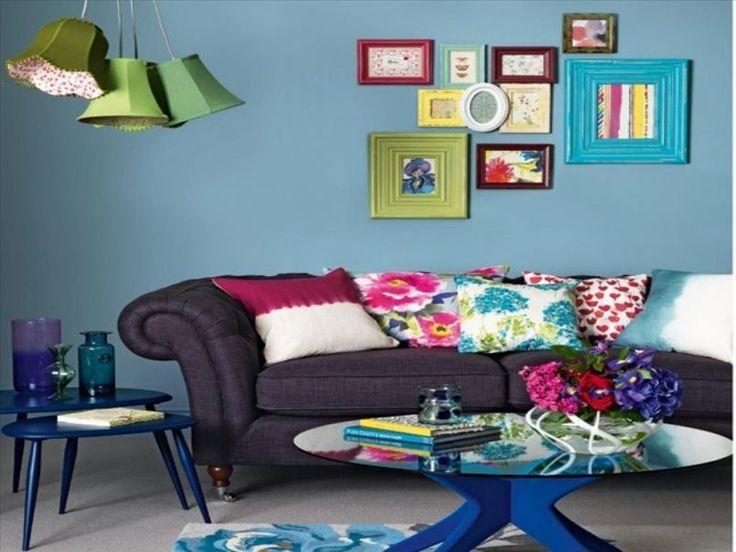 Die besten 25+ Lila wohnzimmersofas Ideen auf Pinterest Lila - wohnzimmer grun pink