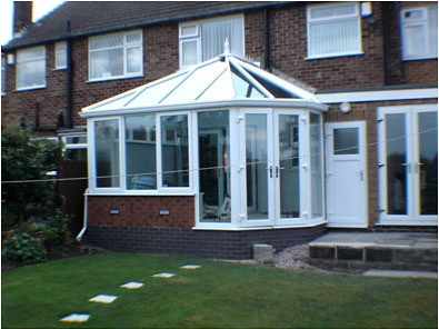 A upvc conservatory in Trowell, Nottinghamshire
