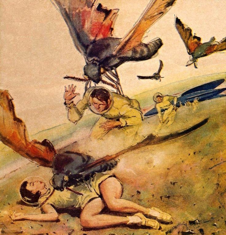 Vintage Sci Fi Illustrations Retro Science Fiction: 508 Best Retro Futurism Images On Pinterest