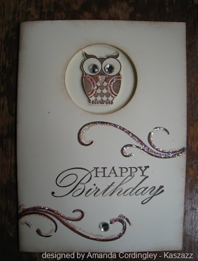 cute idea.  Could use the tree embossing as background