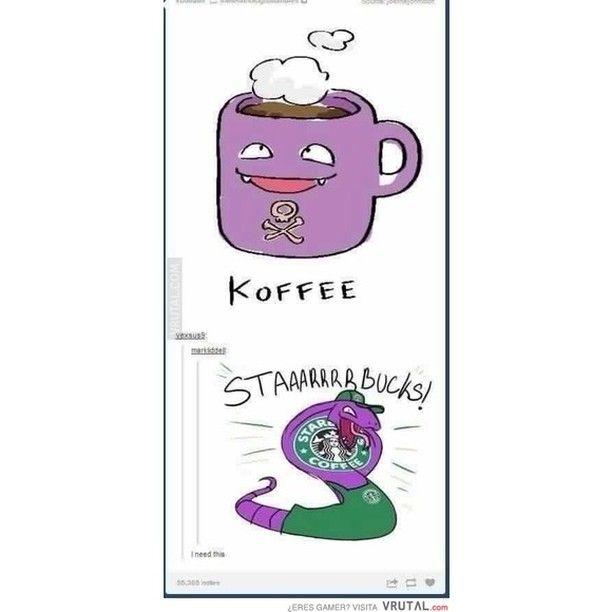 Juegos de palabras estilo pokemon #pokemon #dravenestuboaqui #wi-figratis #koffee #humor #vrutal #memondo by vrutalgames