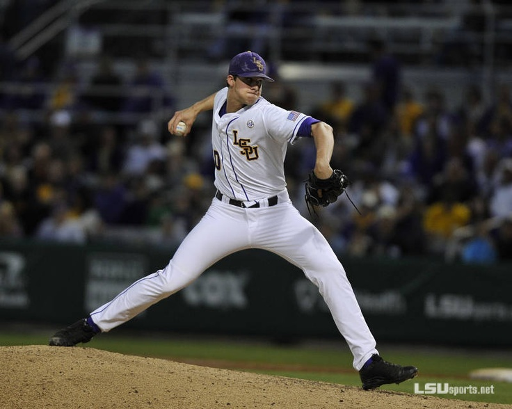 Baseball vs. Kentucky - Game 1 on April 5, 2013 at Alex Box. Sophomore RHP Aaron Nola pitched a gem. LSU won 11-1.