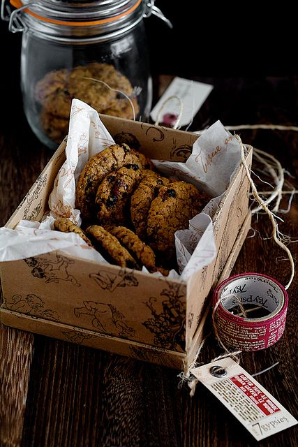 Blueberry Pecan Oatmeal Cookies |Life is Great