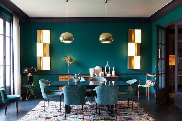Turquoise Room Decorations Looking For Some Cool Diy Room Decor Ideas In Say The Color Turquoise You Turquoise Dining Room Turquoise Room Aqua Dining Rooms