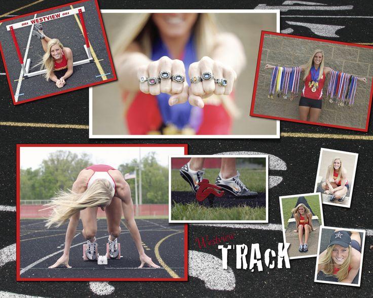 Senior Track Pics!  Love this set!