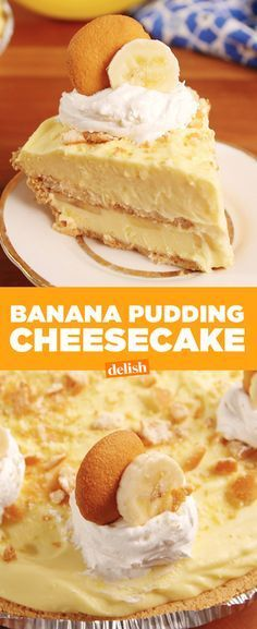 This Banana Pudding Cheesecake will make you feel things you've never felt before. Get the recipe from Delish.com.