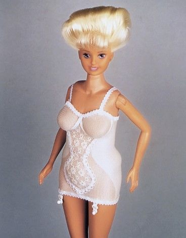 "Ciotka Kena is Polish. (Her name literally means ""Ken's Aunt."")  *a plus sized Barbie that DID exist and but only 24 were ever made.  created by a Polish artist named Zbigniew Libera in 1994.  (But she came in a full girdle?): Polish Artists, Plus Size, Polish Stuff, Boomer Barbie, Barbie Dolls, Baby Boomer, New Baby, Size Barbie, Plussiz Barbie"