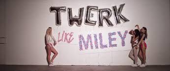 Twerk It Like Miley ( Feat. Christopher ) Lyrics - Brandon Beal