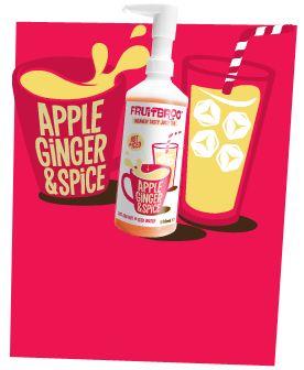 Apple, Ginger & Spice 500ml #juicy #fruit #tea