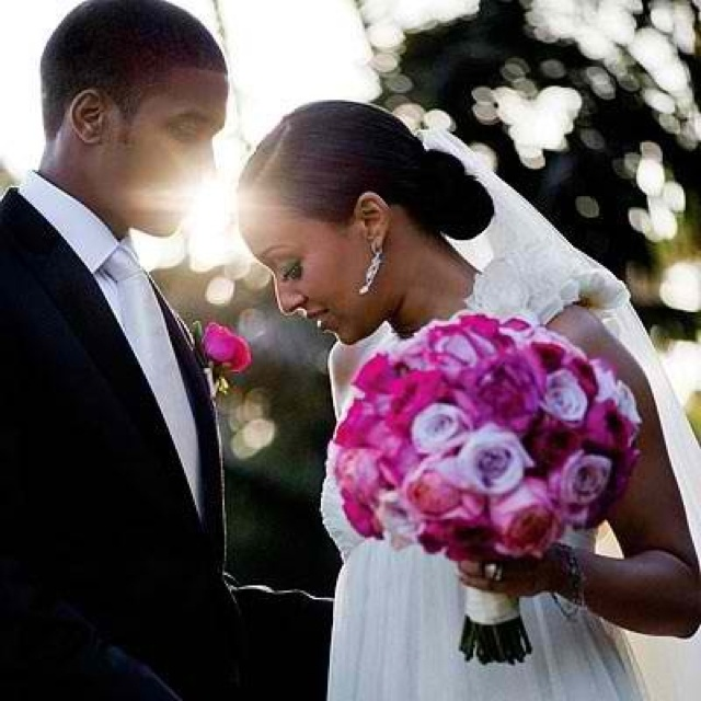 African American Celebrity Wedding Dresses
