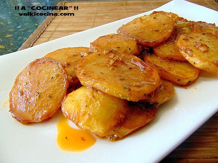 Patatas o papas en adobillo