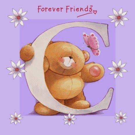 Alfabeto de For Ever Friends.   Oh my Alfabetos!