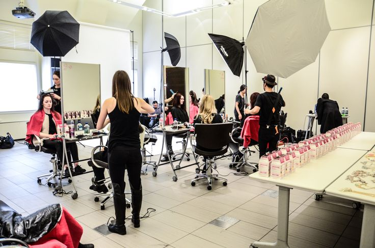Hair transformation day with the 28 winners of our Casting Crème Gloss contest!