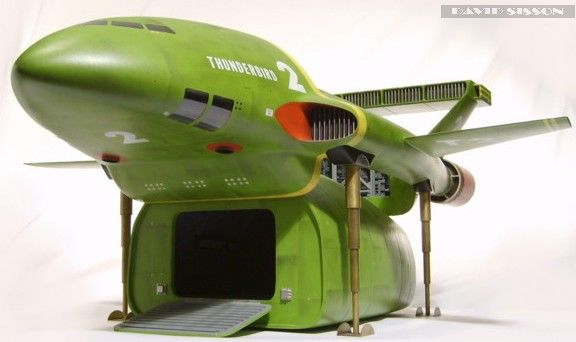 Building a studio scale model of Gerry Andersons Thunderbird 2