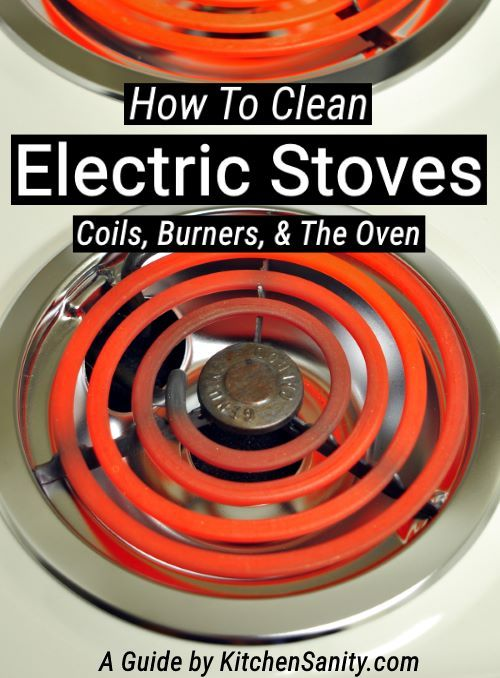 Awesome Guide On How To Clean An Electric Stove Including The Burners