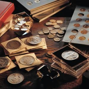 Coin Collection - Don Farrall/Photodisc/Getty Images