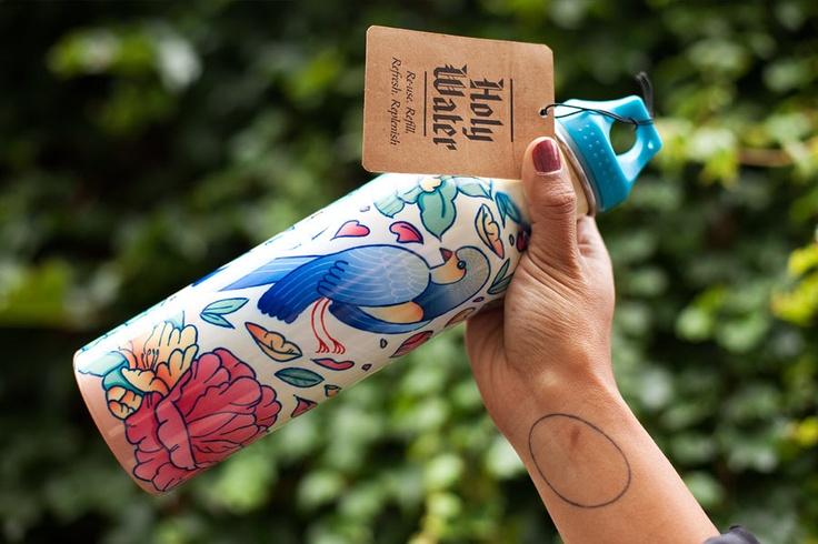 Ishka water bottle designed by Studio Pounce