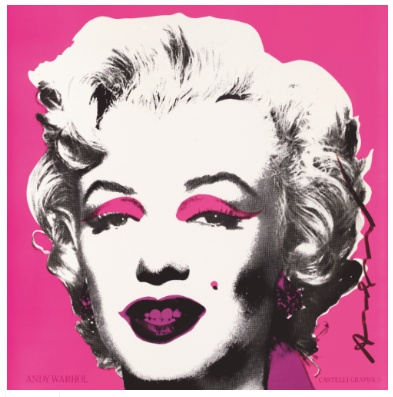 Andy Warhol - Marilyn (Announcement)