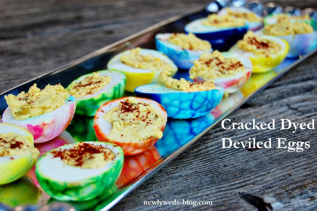 @Nicole Perley  see, other people crack their eggs when they dye them to get colorful deviled eggs... im not that weird!