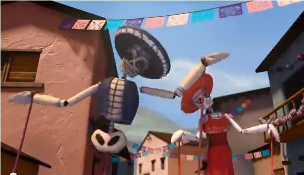 This lady is amazing! She created tons of activities to go with this beautiful short film. El día de Muertos - Aprendemos español