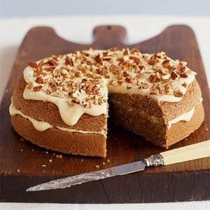 Maple And Pecan Cake Recipe