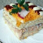 Ciasto Ryby na Szabat (Pastel de pescado para Shabat)