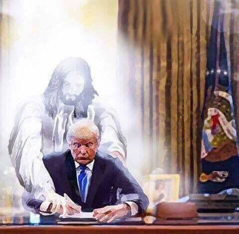 Let's all pray dearly to God for our new leader & President! ✝️