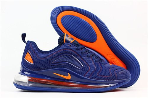 separation shoes 3b7a6 b725b Nike Air Max 720 Flyknit Blue Orange on www.offwhiteairforce.com
