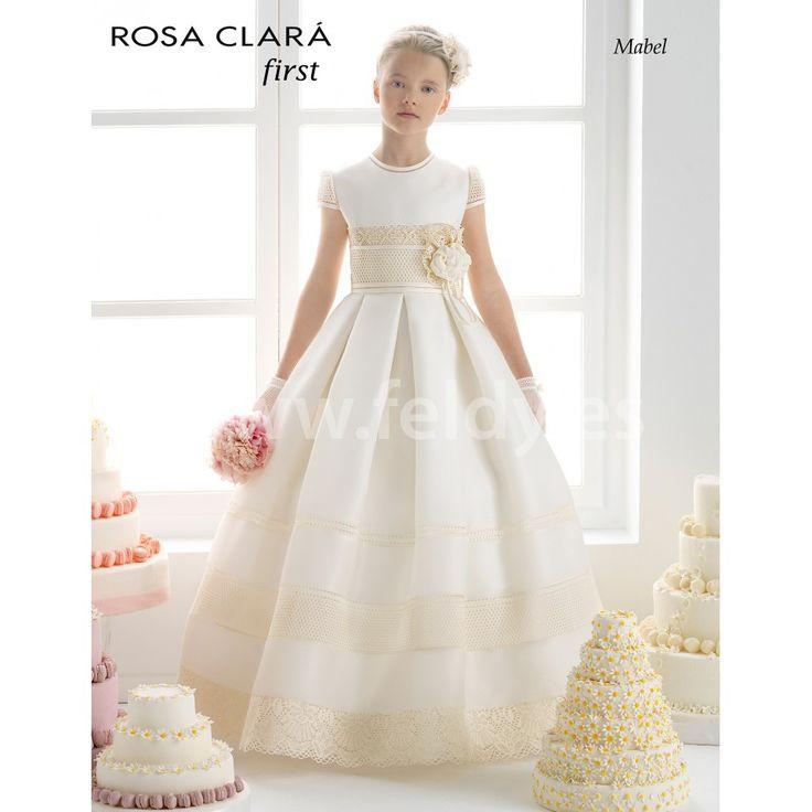 Vestido Comunión Rosa Clara 2015 Mabel
