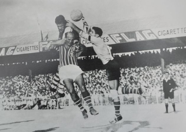 Floriana 1 Ipswich Town 4 in Sept 1962 in Gzira. Ted Phillips attacks for Ipswich Town in the European Cup prelim round, 1st Leg.