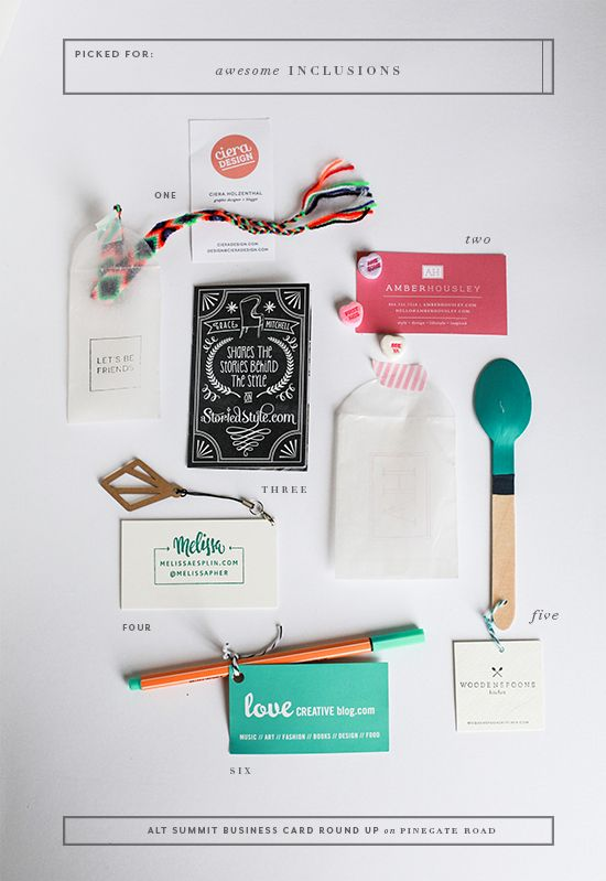 creative handmade business cards