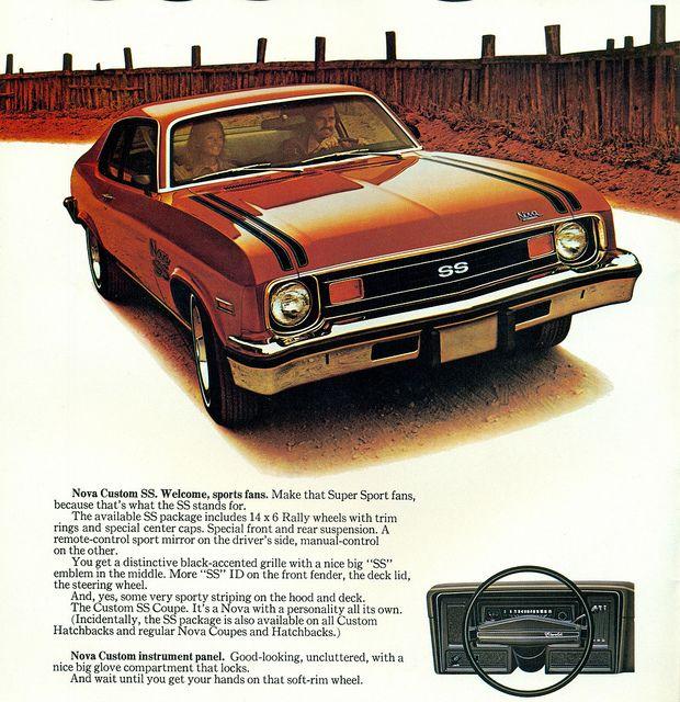 1974 Chevrolet Nova Custom SS Coupe