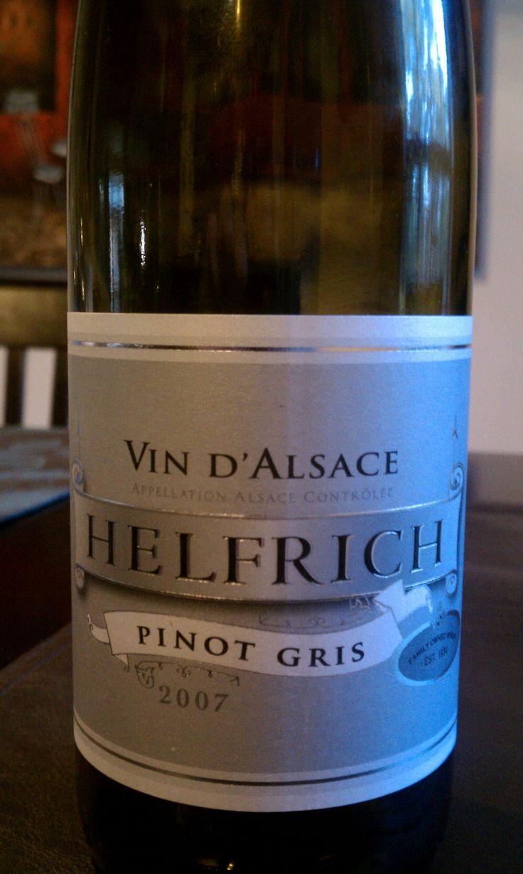 Helfrich Pinot Gris Vin d'Alsace 2007